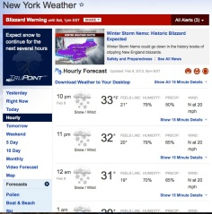New York Weather