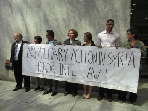 Prayer vigil Syria