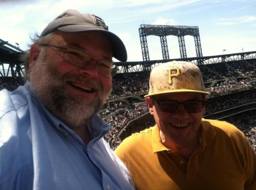 With Bob at Pirates game