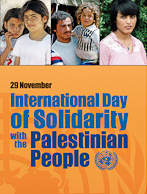 Intl Day Solidarity Palestinian People